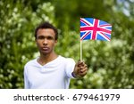 young black blurred guy with... | Shutterstock . vector #679461979