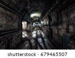 underground military bunker... | Shutterstock . vector #679465507