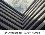 building square the sky vintage ... | Shutterstock . vector #679476985