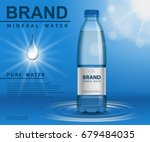 Pure Mineral Water Ad  Plastic...