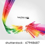 abstract background vector | Shutterstock .eps vector #67948687