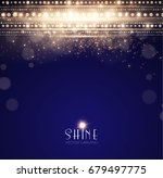 abstract elegant shining... | Shutterstock .eps vector #679497775