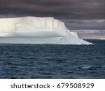 Huge Tabular Iceberg Floating...