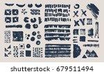 set of vector geometric... | Shutterstock .eps vector #679511494