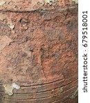 vintage pottery surface ... | Shutterstock . vector #679518001