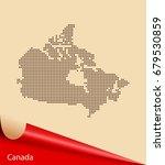 map of canada | Shutterstock .eps vector #679530859