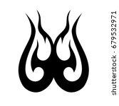 tattoo tribal vector design....   Shutterstock .eps vector #679532971
