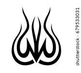 tattoo tribal vector designs. | Shutterstock .eps vector #679533031