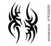 tribal tattoo art designs.... | Shutterstock .eps vector #679533055