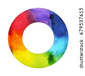 7 color of chakra symbol... | Shutterstock . vector #679537615