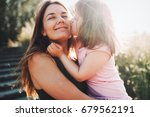 picture of mother and child... | Shutterstock . vector #679562191
