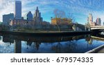 a panorama of the providence... | Shutterstock . vector #679574335