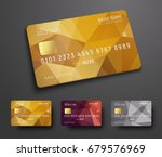 design of a credit  debit  bank ... | Shutterstock .eps vector #679576969