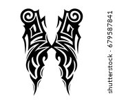 tribal tattoo art designs.... | Shutterstock .eps vector #679587841