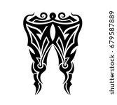 tattoo tribal vector designs. | Shutterstock .eps vector #679587889