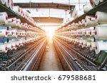 rolls of industrial cotton...   Shutterstock . vector #679588681