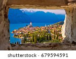 Malcesine And Lago Di Garda...