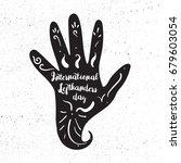 international lefthanders day... | Shutterstock .eps vector #679603054