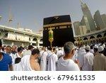 mecca  saudi arabia  13 april... | Shutterstock . vector #679611535