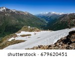 mountain landscape. north... | Shutterstock . vector #679620451