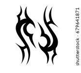 tattoo tribal vector designs. | Shutterstock .eps vector #679641871