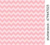 Seamless Chevron Pattern  Pink...