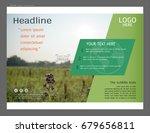 presentation layout design for... | Shutterstock .eps vector #679656811