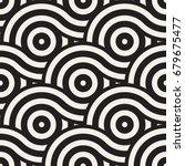 vector seamless geometric... | Shutterstock .eps vector #679675477
