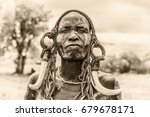 omo valley  ethiopia   may 7 ... | Shutterstock . vector #679678171