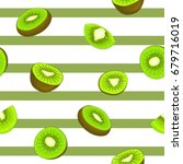 seamless pattern of ripe... | Shutterstock . vector #679716019