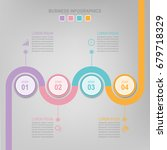 infographic template of