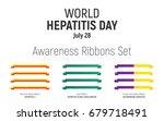 world hepatitis day  july 28 ... | Shutterstock .eps vector #679718491