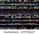 glitch background. computer... | Shutterstock .eps vector #679742617