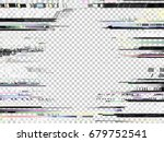 glitch background. computer... | Shutterstock .eps vector #679752541