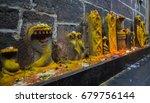 arunacheshvara temple nagas....   Shutterstock . vector #679756144