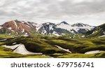Mountains On Iceland
