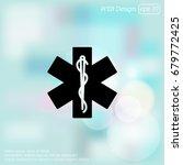 web icon. medicine  ambulance ... | Shutterstock .eps vector #679772425