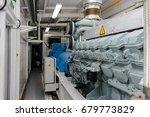 diesel generator | Shutterstock . vector #679773829
