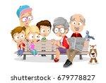 vector cartoon illustration of... | Shutterstock .eps vector #679778827