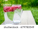 refreshing summer drink with... | Shutterstock . vector #679783549