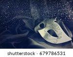 carnival mask | Shutterstock . vector #679786531