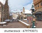 telluride  colorado usa  ... | Shutterstock . vector #679793071