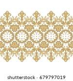 seamless ornamental vector... | Shutterstock .eps vector #679797019