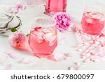 summer refreshment drinks.... | Shutterstock . vector #679800097