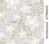 floral seamless pattern | Shutterstock .eps vector #67980643