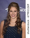 Small photo of Los Angeles, CA, USA; March 01, 2012; Shannon Magrane arrives to the American Idol Finalist Party.