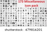 miscellaneous icon pack | Shutterstock .eps vector #679816201