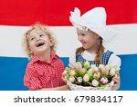 Little Dutch Girl And Boy...