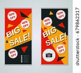 modern big sale colorful... | Shutterstock .eps vector #679862317