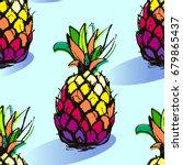 bright illustration of... | Shutterstock .eps vector #679865437